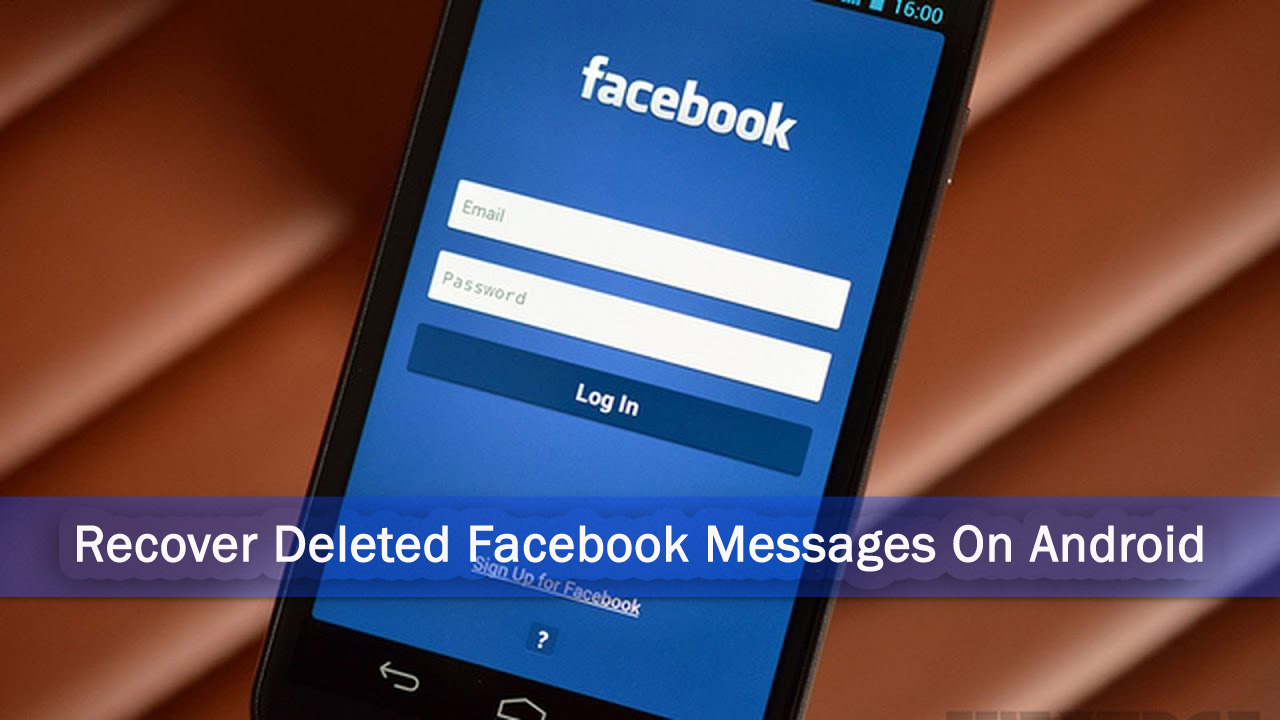 retrieve deleted facebook messages application