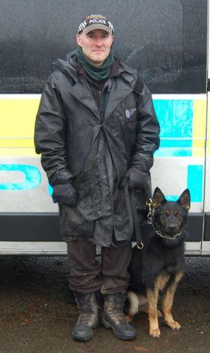 police dog handler application form