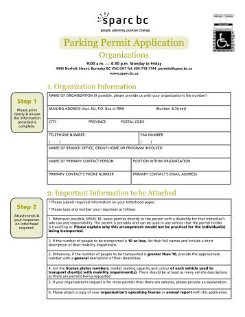 australian disability parking permit application