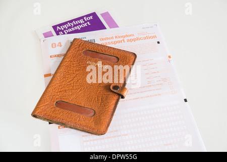 new passport application form download