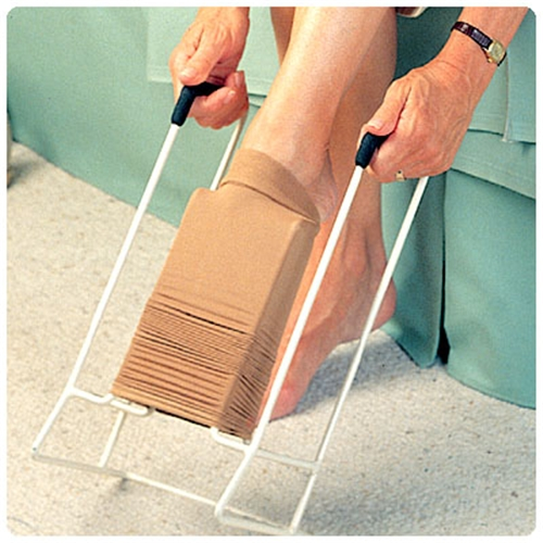 easy as compression stocking applicator