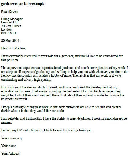writing a covering letter for a job application uk