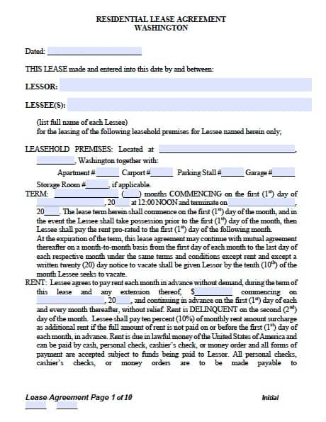 residential rental application form pdf