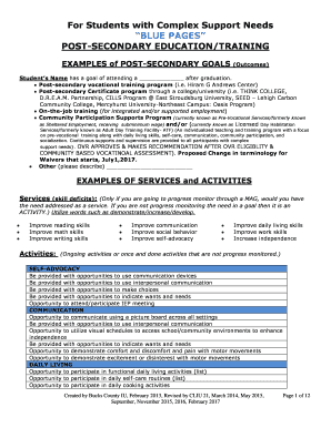 supporting information for job application