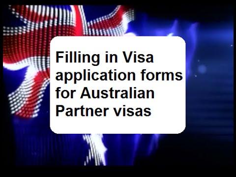 australian family visa application form