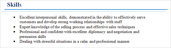 good characteristics for a job application