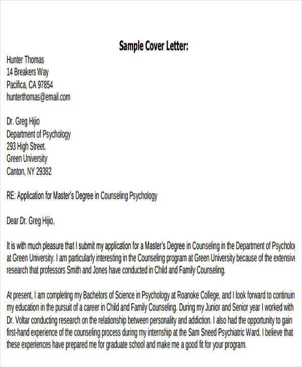 application letter for agriculture graduate pdf