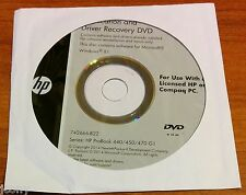 hp application and driver recovery dvd windows 7