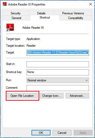 windows application error 0xc0000022 adobe