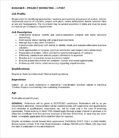 it application manager job description