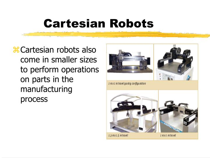 robot application in manufacturing ppt