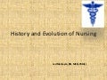 evolution of nursing theories and application