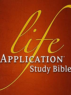 zondervan life application study bible