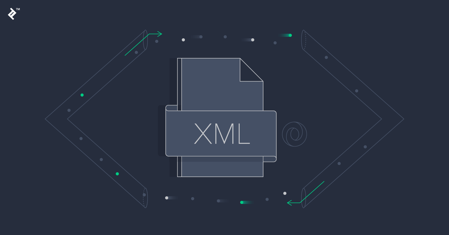 why xml is used in web applications