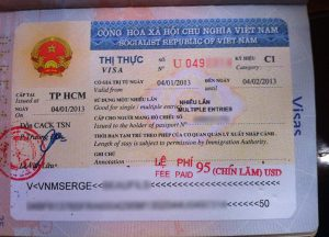 application for entry and exit vietnam