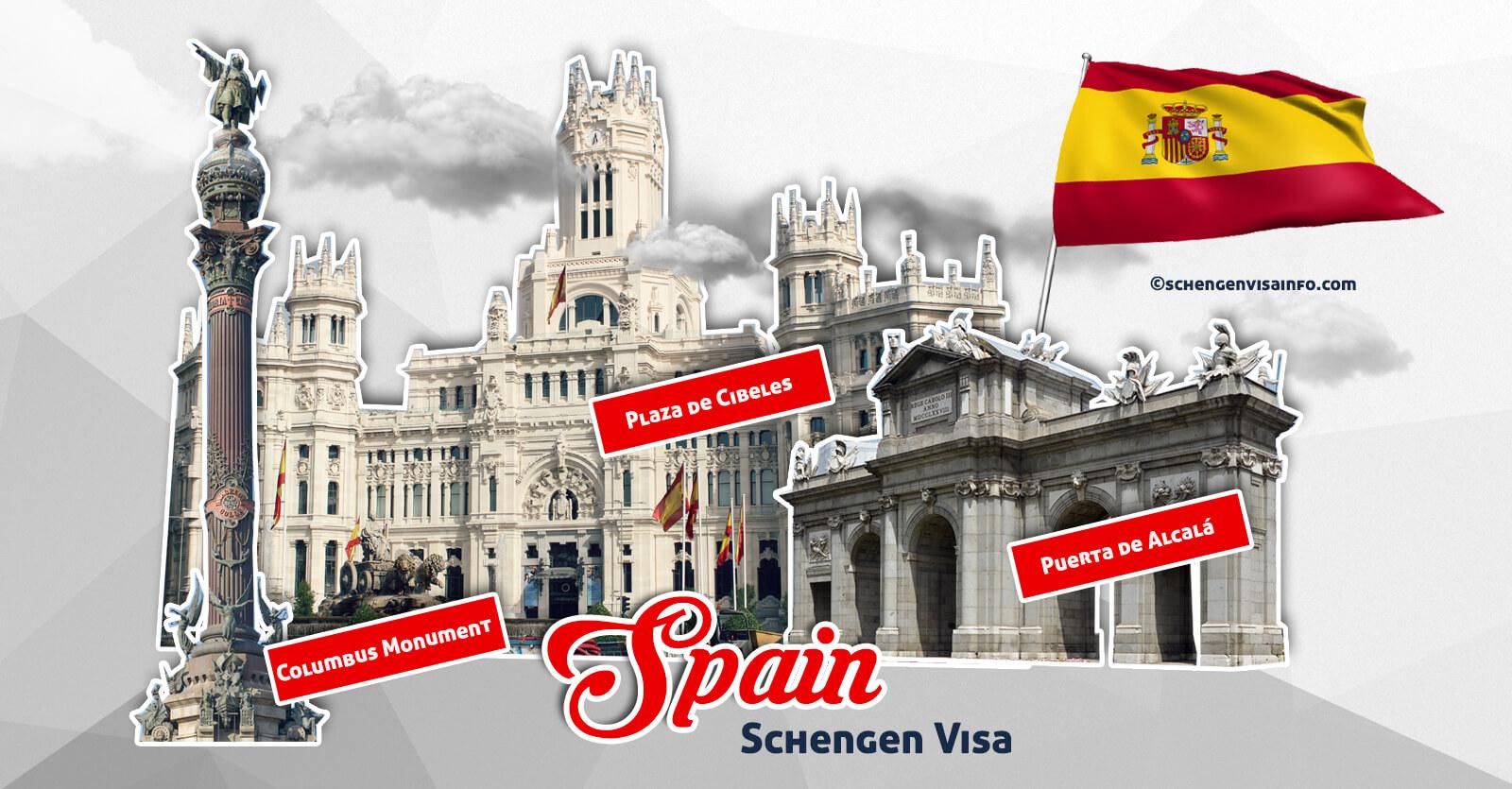 spain visa application form india