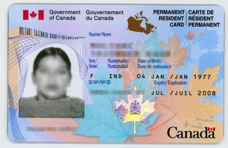 canada pr visa application form