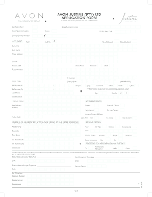 credit application form template south africa