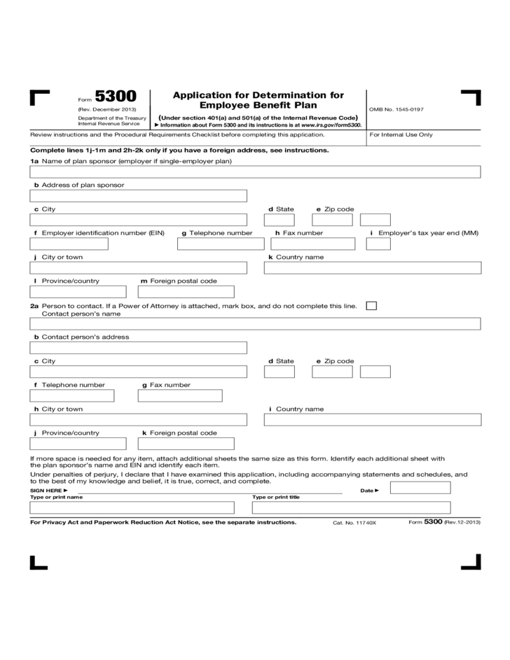 application for employer identification number form
