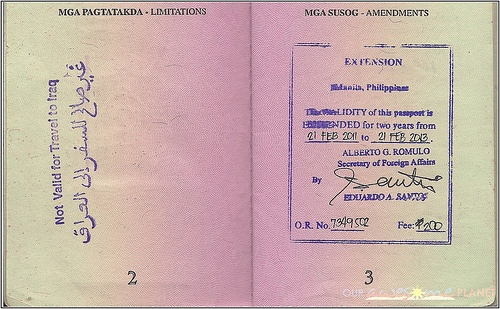 passport renewal application form philippines