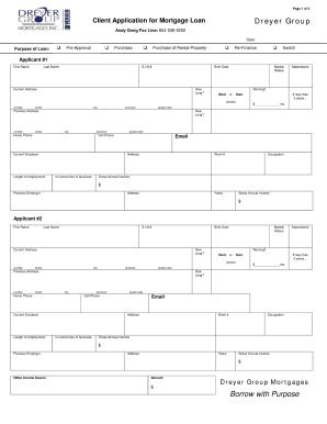 home loan online application form