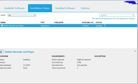 sccm 2012 application catalog adding applications