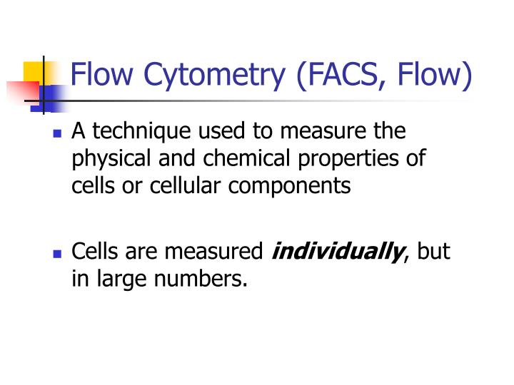 flow cytometry applications in immunology