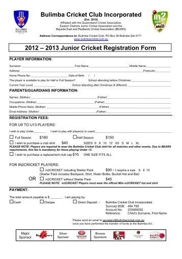 new registration application form qld