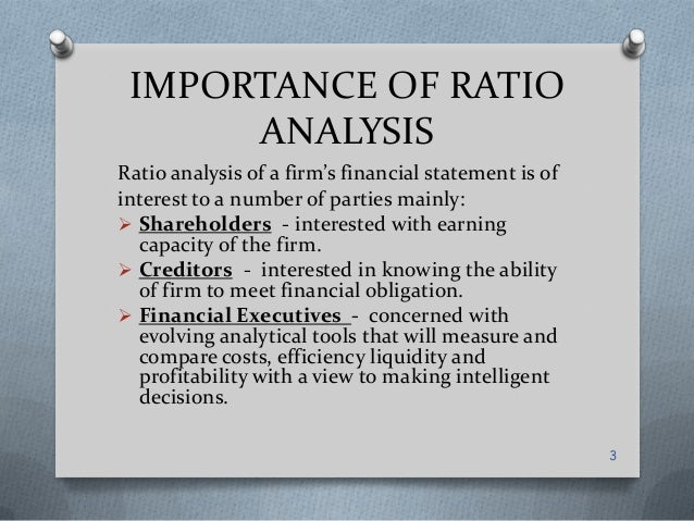financial statement analysis is the application of analytical tools