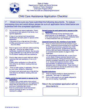 child care assistance application online