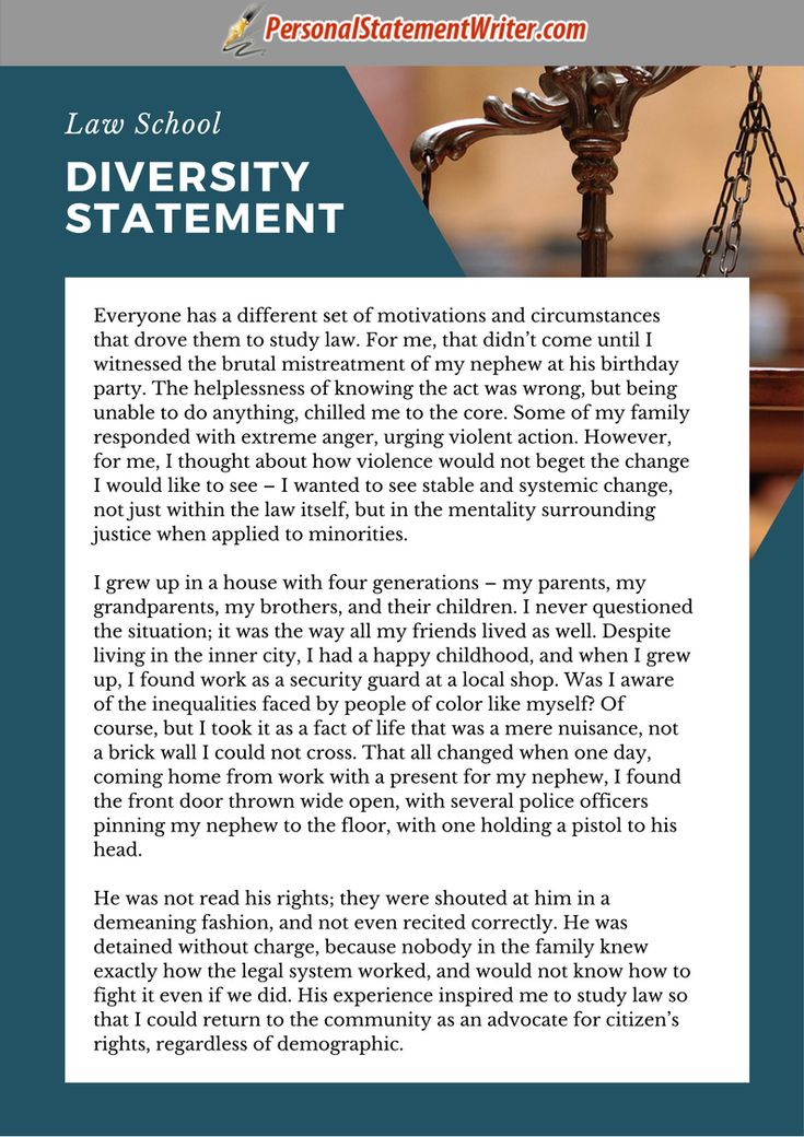 personal statement of faith for job application