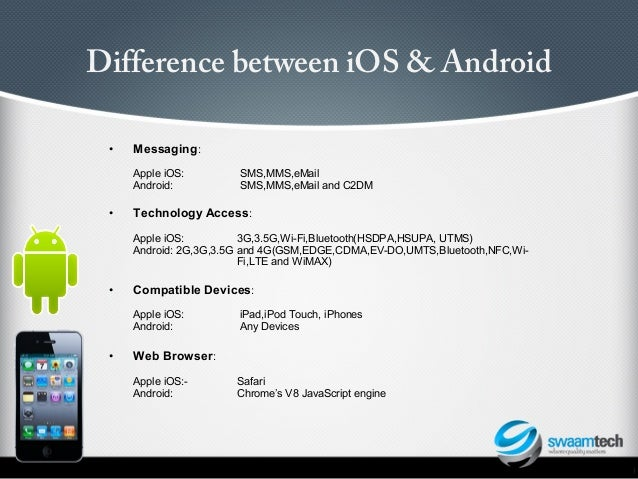 difference between mobile application and web application testing