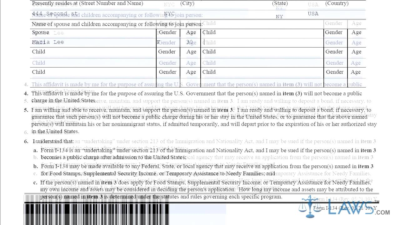 how to fill pan application form