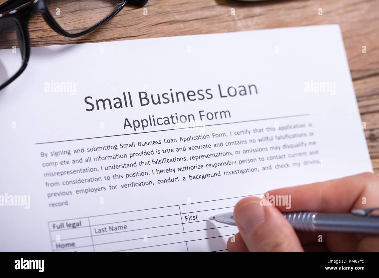 step up loan application form