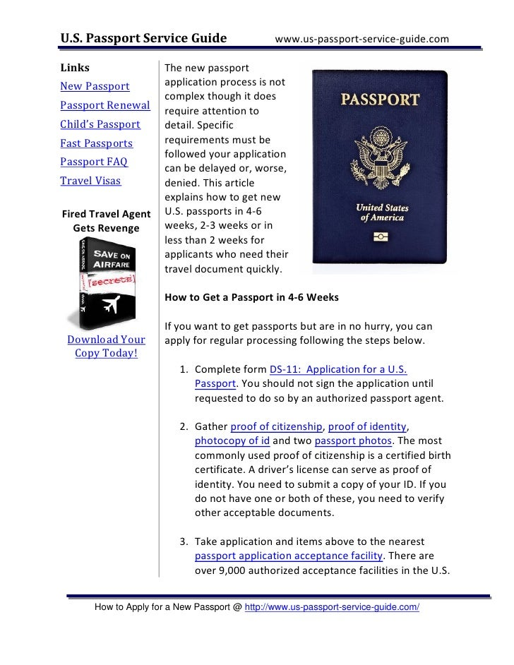 where to get passport application