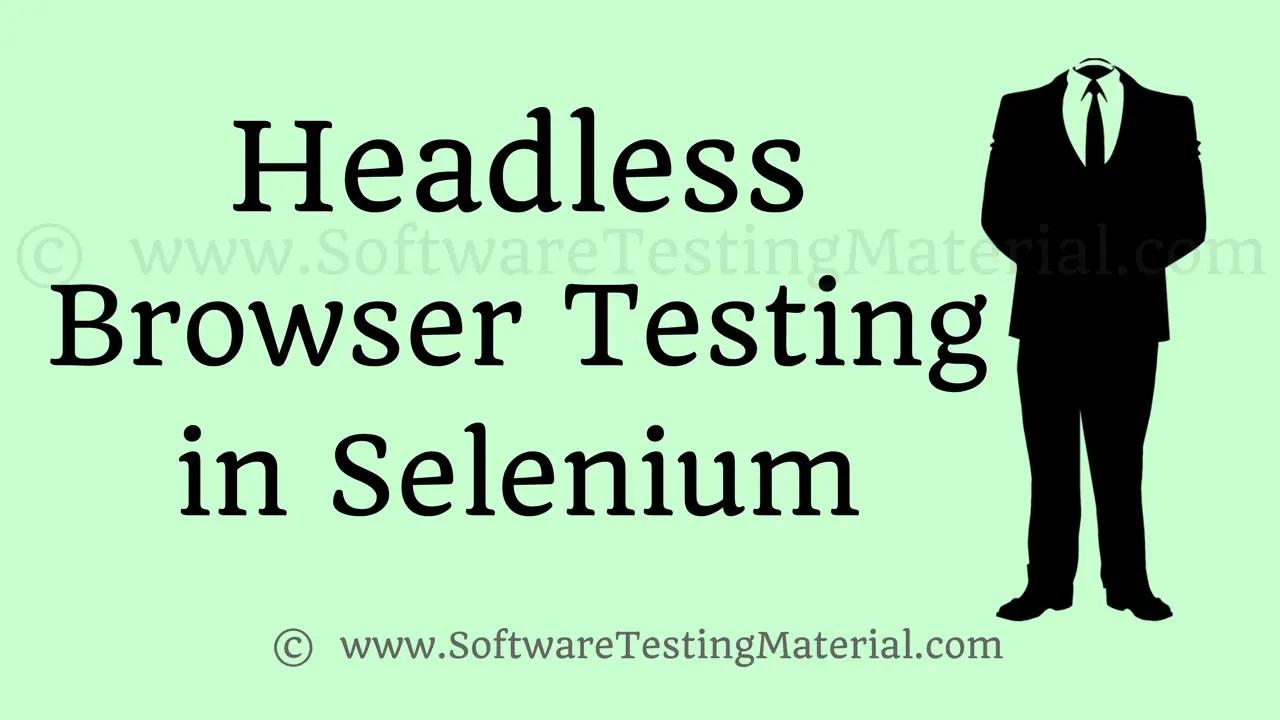 mobile application testing using selenium