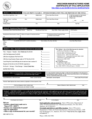 application for replacement certificate of title