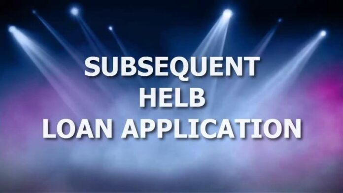 helb subsequent application 2017 2018