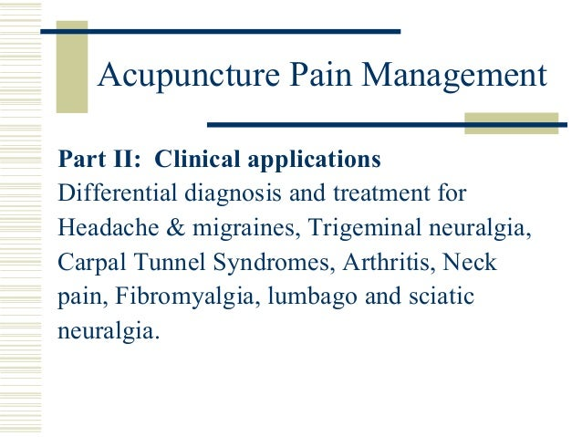 acupuncture for depression a review of clinical applications