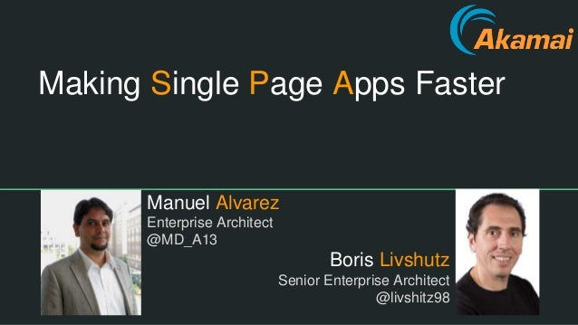 what is single page applications