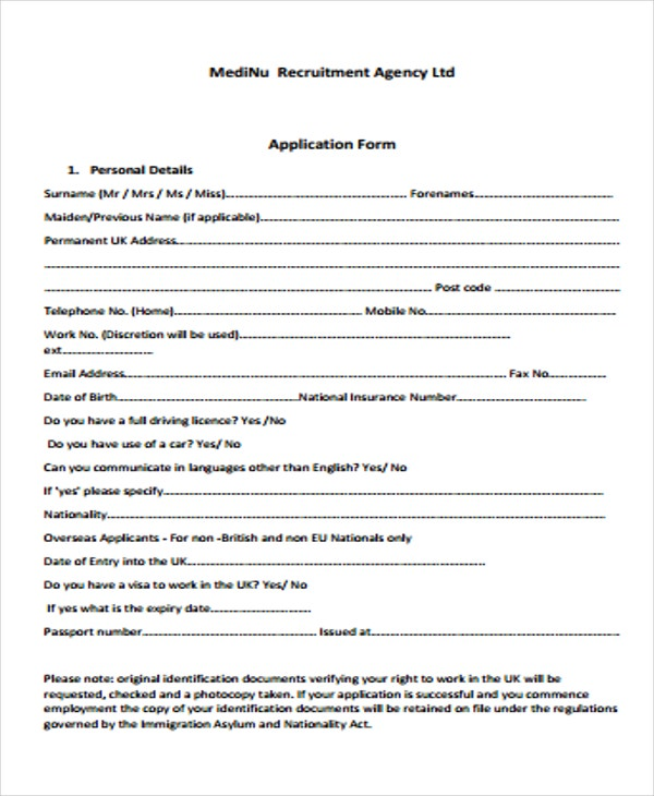 uk visa application form download
