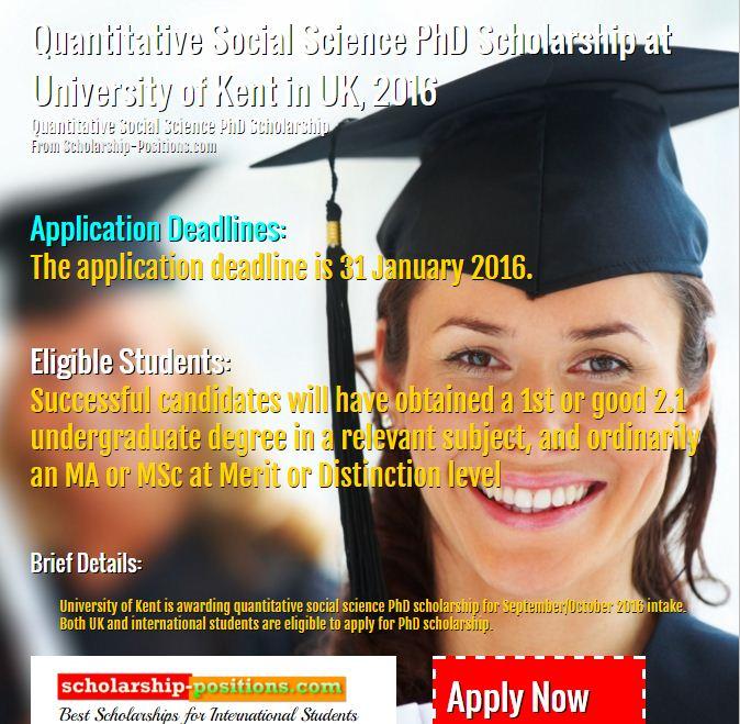 university of kent phd application