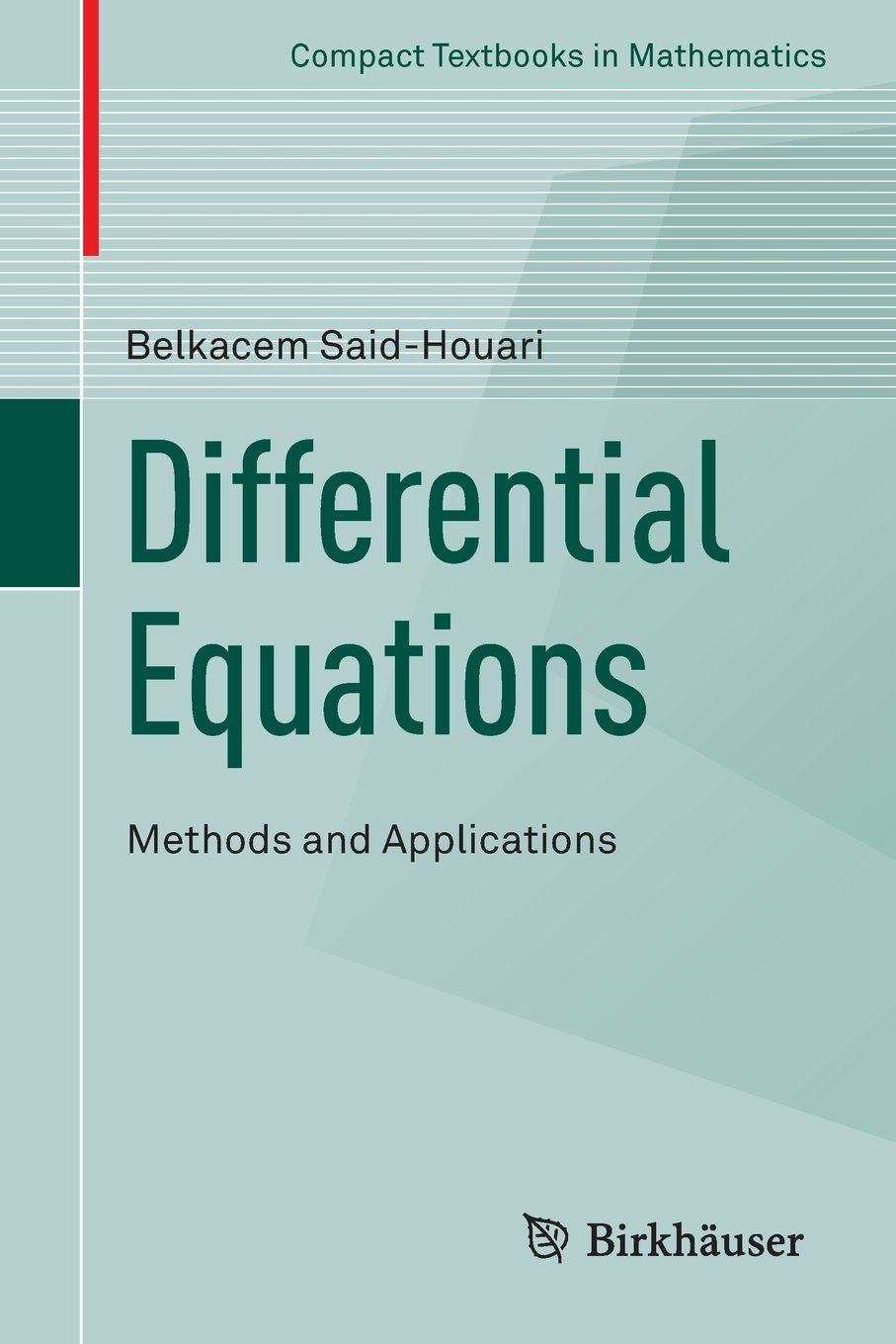differential equation and its application