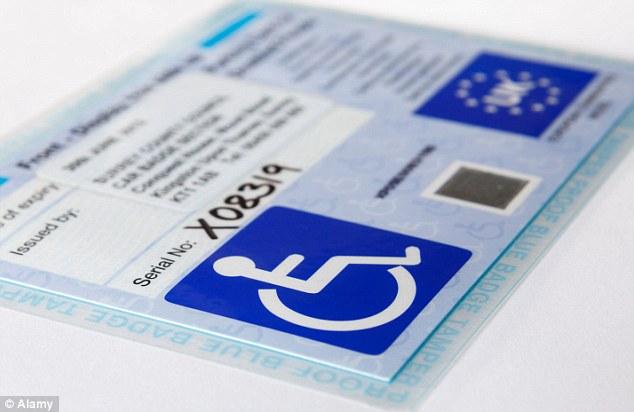 disabled parking badge application form
