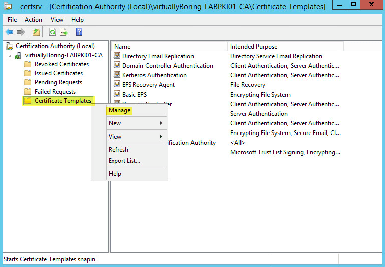 application for a public key infrastructure site certificate
