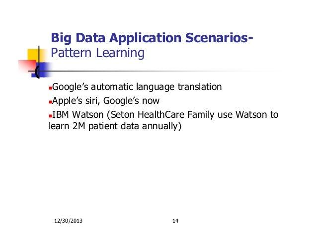 applications of big data analysis