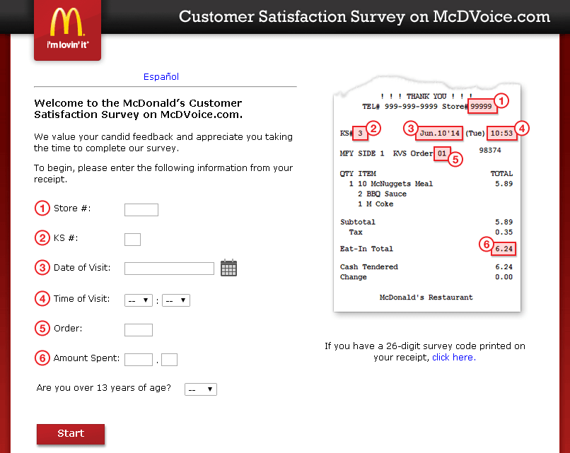answers to mcdonalds application questions