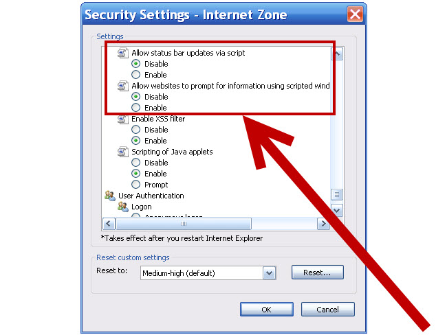 curse client application install security warning
