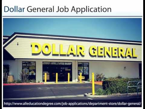 dollar general application online apply now