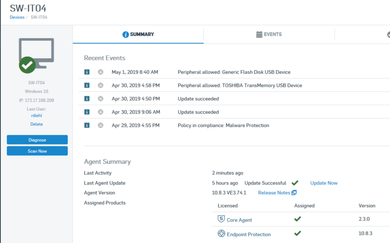 sophos central malware or potentially unwanted applications in quarantine